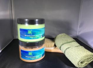 Alaska Made Whipped Cream Body Polish Alaska Natural Bath Products by Northern Lite Naturals
