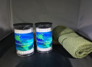 Mentholated Shower Steamers Alaska Natural Bath Products by Northern Lite Naturals