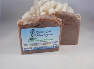 Alaskan Made Salted Caramel Macchiato Soap Bar Alaska Natural Bath Products by Northern Lite Naturals
